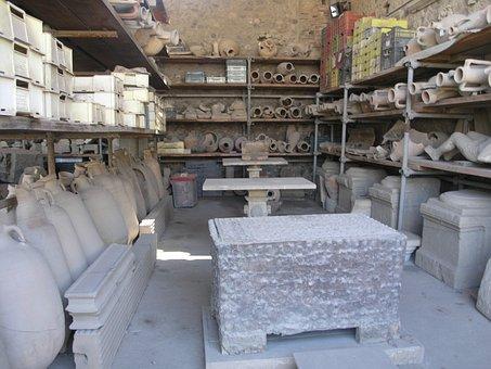 Pompei, Pottery, History, Vase, Roman, Antique