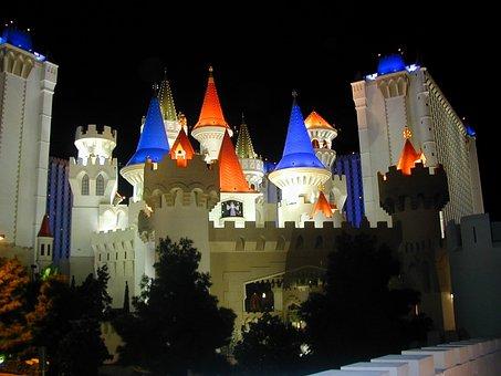 Excalibur, Las Vegas, Hotel, Las Vegas Boulevard