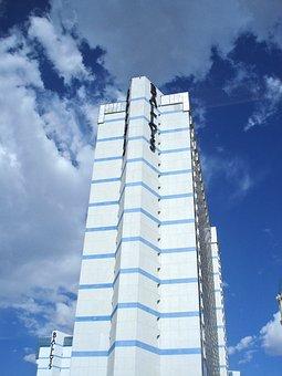 Tall Building, Hotel, Las Vegas, Urban, Architecture