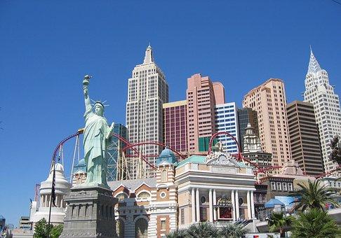 Las Vegas, Las Vegas New York Skyline, Las, New, Vegas