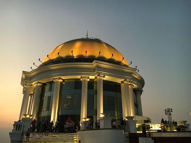 Lebua State Tower Hotel, Dome, Roof Dome, Thailand