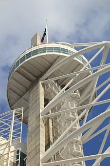 Portugal, Lisbon, Expo, Area, Hotel, Tower