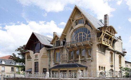 Architecture, New Art, Villa Majorelle, Nancy