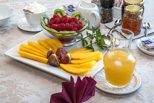 Breakfast, Fresh Fruit, Healthy Eating, Nutrition