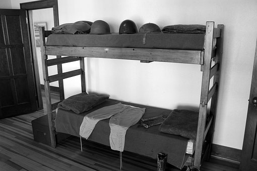 Fort Reno, Oklahoma, Bunk Beds, Soldier