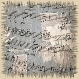 Music, Paper, Background, Design, Musical, Note, Sound
