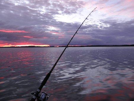 Trolling, Fishing, Sunset, Holiday, Savonlinna, Saimaa