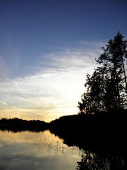 Saimaa, Sunset, Finnish, Summer, Nature, Savonlinna