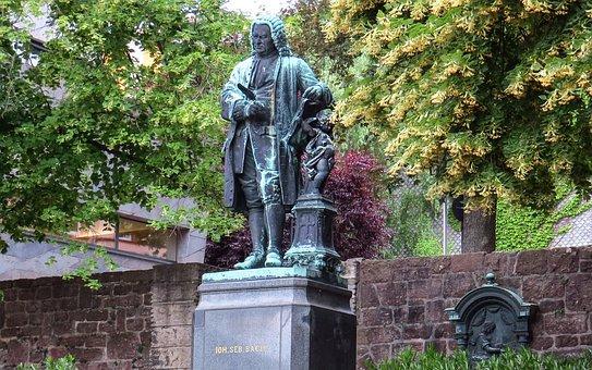 Johann Sebastian Bach, Composer, Sculpture, Monument