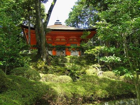 Otsu, Japan, Shingon, Temple, Religion, Faith, Building