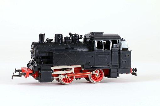 Railway, Model Railway, Model, Steam Locomotive