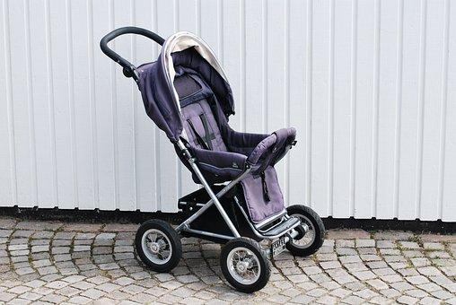 Pram, Stroller, Toddler, Family