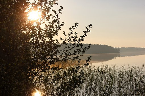 Morning, The Morning Sun, Saimaa, Midsummer