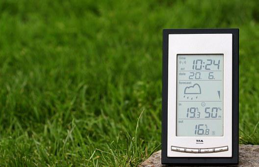 Weather Station, Digital Display, Weather Forecast