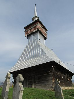 Wooden Church, Bradet, Transylvania, Crisana, Bihor