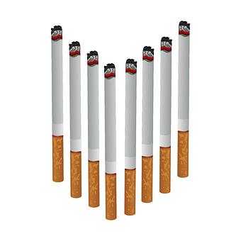 Cigarete, Smoke, Smoking, Money, Smoker, Addiction