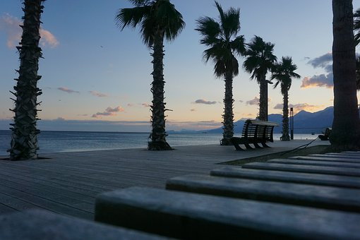 Beach, Antalya, The Coast Of Antalya, Marine, Palm