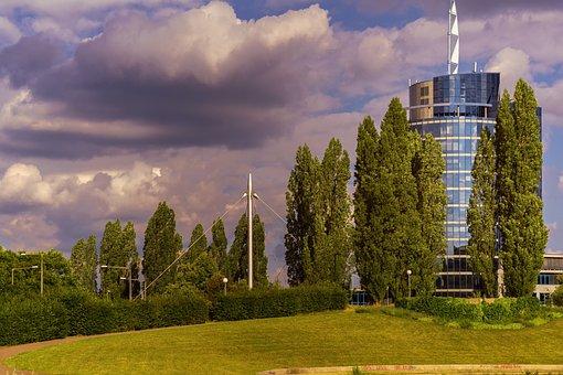 Building, Office, Modern
