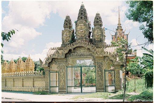 Gate, Landmark, Castle