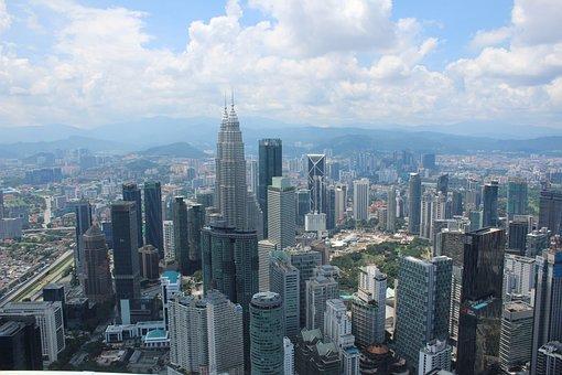 Patronas Towers, Skyscrapers, Malaysia, Tower, Patronas