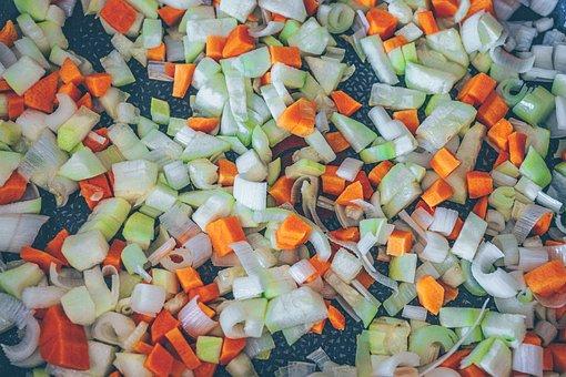 Vegetables, Carrots, Leeks, Healthy, Eat, Fresh