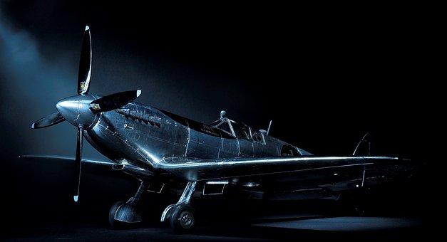 Silver Spitfire, Aircraft, Propeler