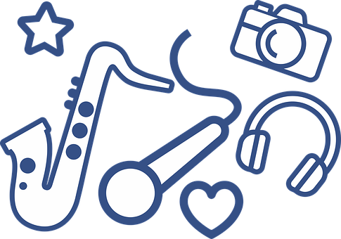 Instruments, Music, Art, Saxophone, Microphone