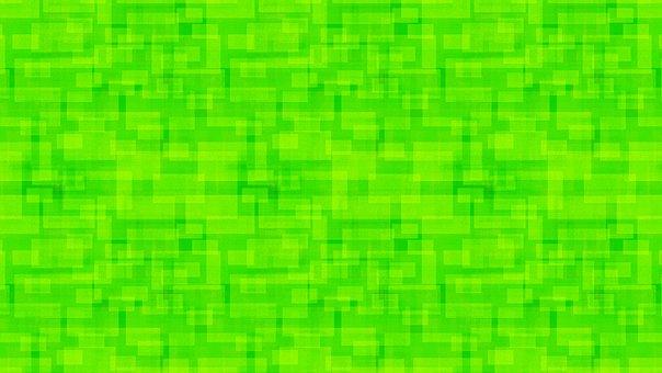 Green, Square, Rectangles, Polygon, Geometric, Shape