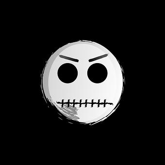 Jack, Scary, Angry, Skellington, Nightmare, Halloween