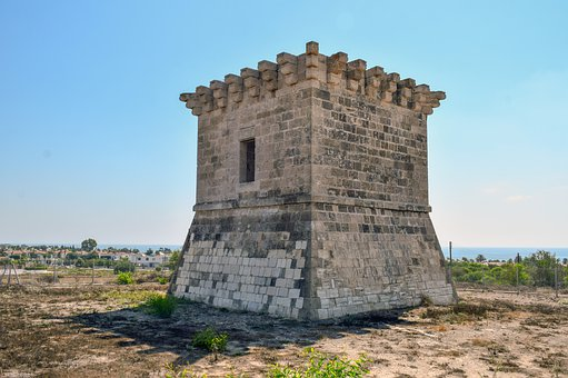 Tower, Architecture, Old, Cyprus, The Venetian Tower