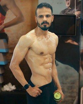 Fit, Man, Posing