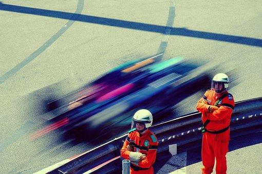 Pit Crew, Men, Race, Monaco, Porsche Cup, Racing