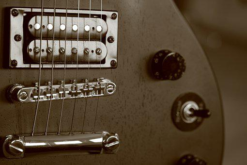Guitar, Electric Guitar, Band, Rock Music, Retro