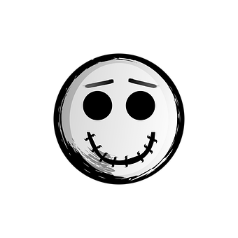 Smiley, Emoticon, Halloween, Jack, Skellington