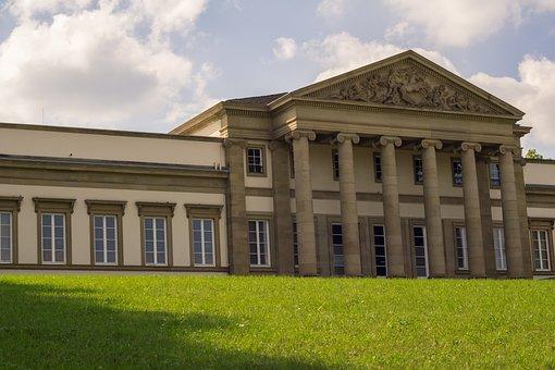 Museum, History, Facade, Stuttgart, Germany, Building