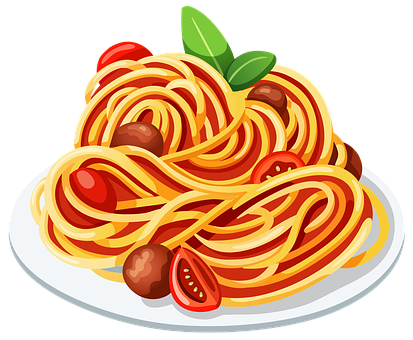 Pasta, Tomato, Italian, Spaghetti