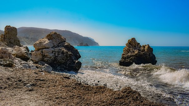 Rocks, Beach, Rocky, Waves, Sea, Coast, Landscape