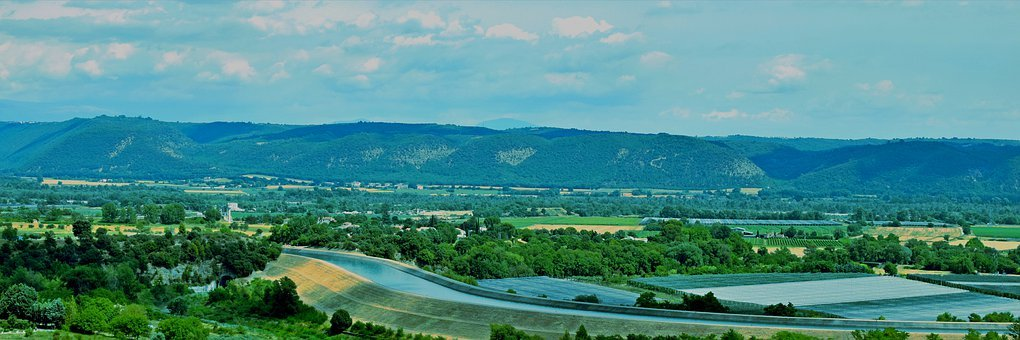 Farm, Agriculture, Passage, Provence, Luberon, Volx