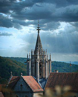Church, Monastery, Landmark, Middle Ages, Religion