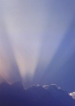 Cloud, Ray, Light, The Monsoon Cloud, The Rays, Shine