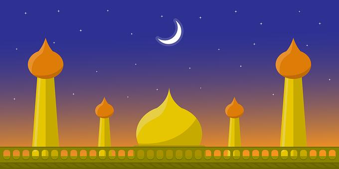 Mosque, Ramadan, Islamic, Religion, Background