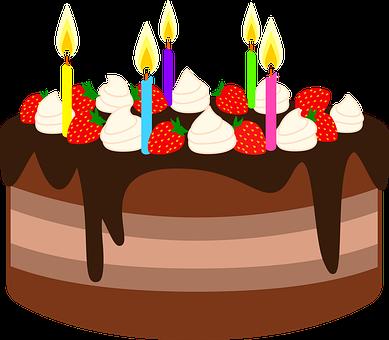 Cake, Birthday Cake, Chocolate Cake, Birthday, Dessert