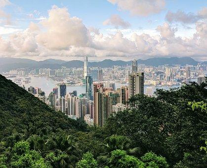 Hongkong, City, Urban, Cityscape, Building, Asia