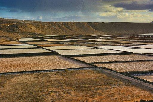 Salt, Sand, Lava, Sea Salt, Box, Holiday, Salt Lake