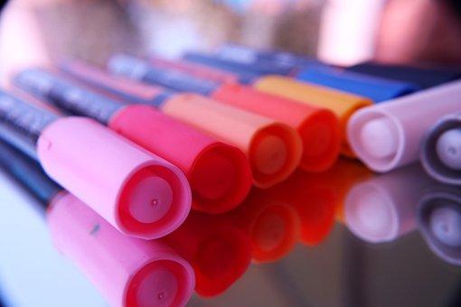 Felt Pens, Felt Pen Art, Felt Markers, Office