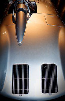 Porsche, Auto, Fog, Classic, Sports Car, Vehicle