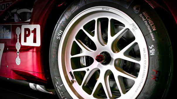Racing Car, Rim, Mature, Sport, Racing, Red, Wheel