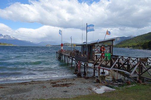 Bride, Sea, Ocean, Resort, Argentina, Terra Del Fuego