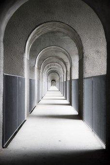 Archway, Passage, Round Arch, Goal