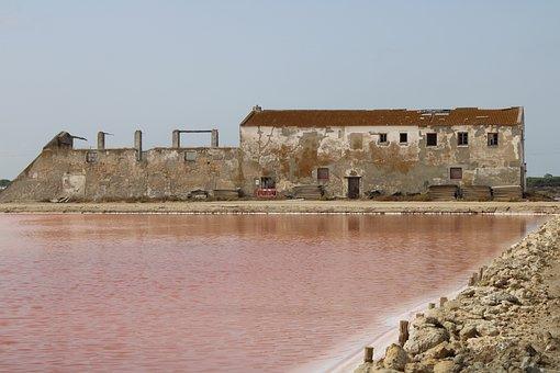 The Port Of Santa Maria, Salinas, Salt, Salt Of The Lid